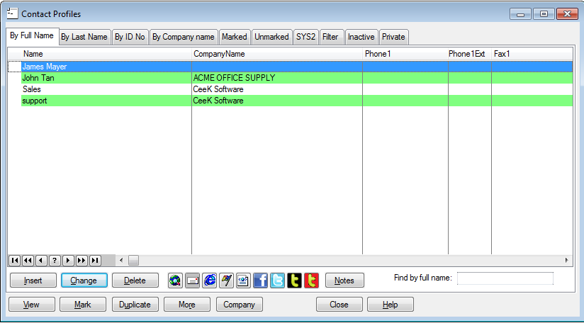 TopSales Professional full screenshot